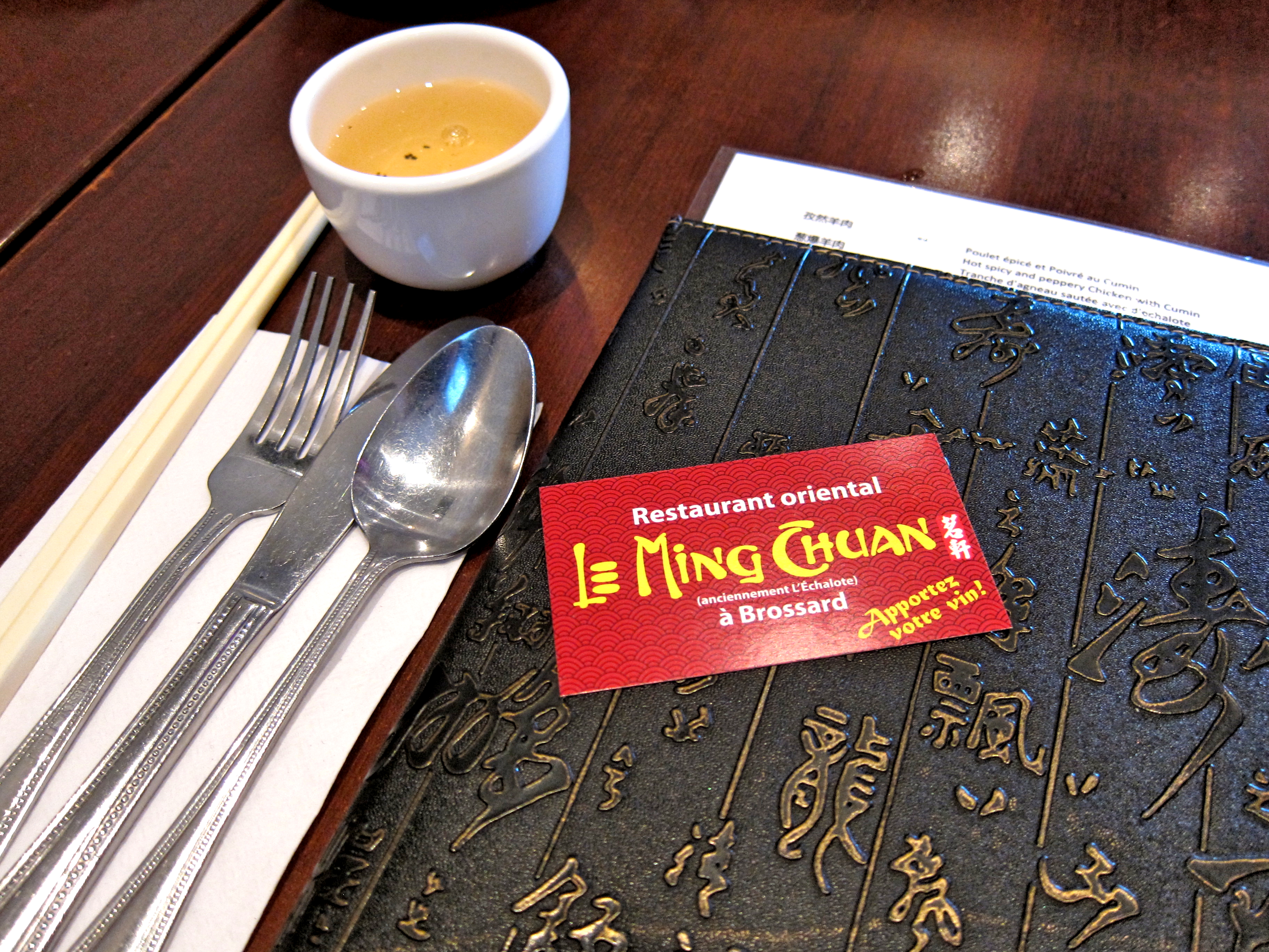 [MTL] Authentic Sichuan Food Spiced-Up in Brossard – Le Ming Chuan
