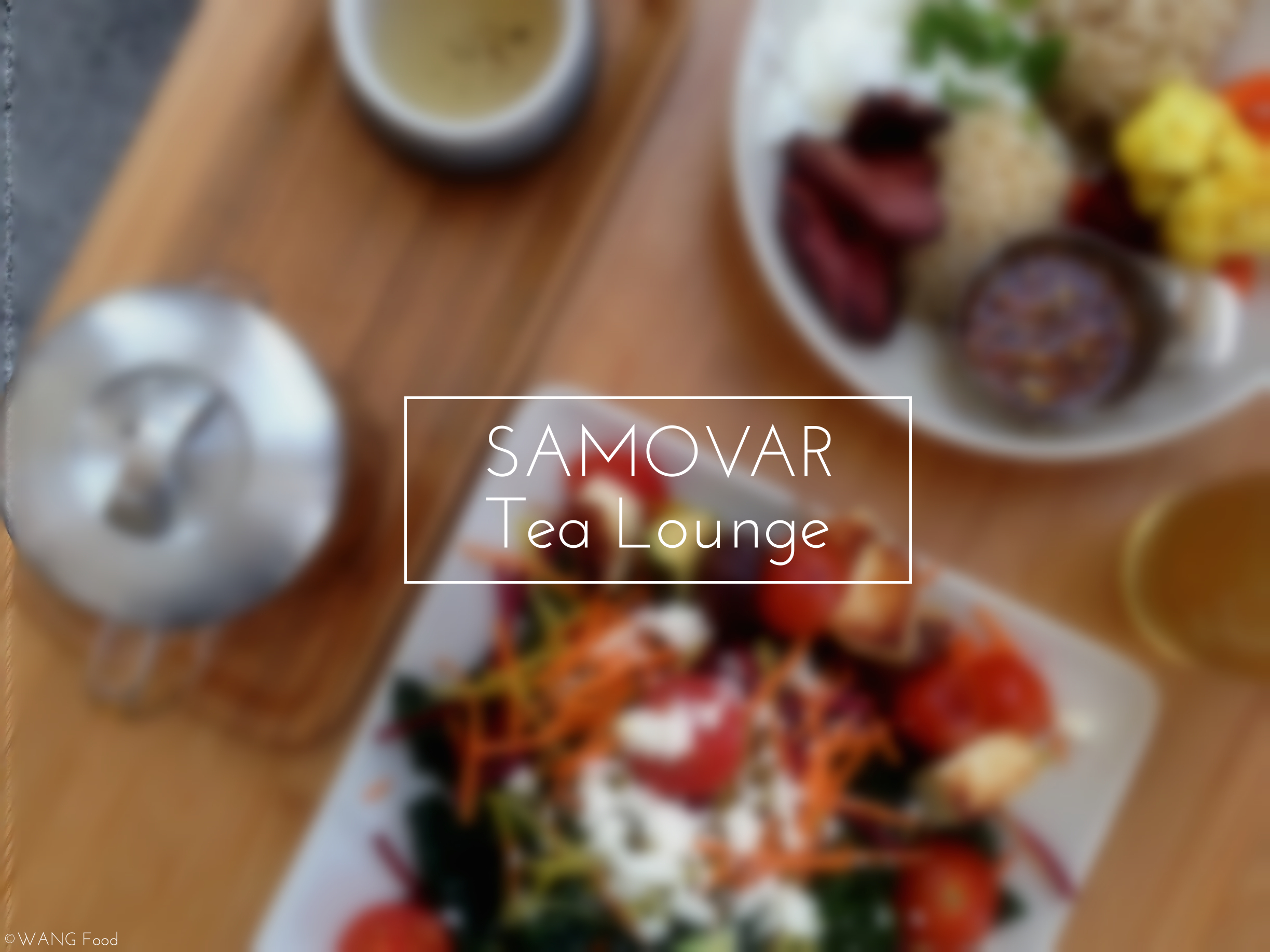 [SF] When tea meets food – Samovar Tea Lounge