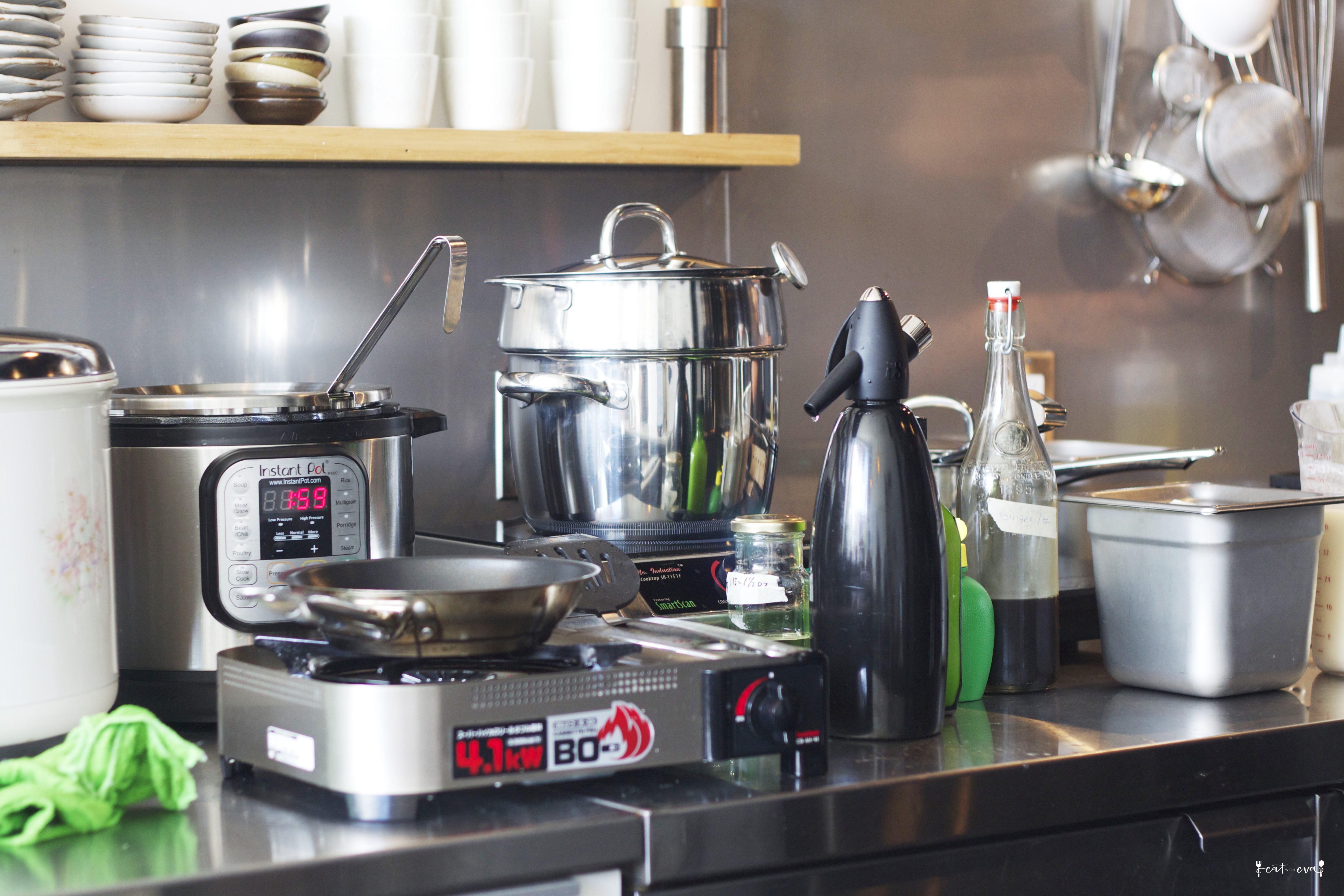 Uncategorized Kitchen Appliances Montreal mtl minimalist noren eat with eva i was kind of surprise to see those portable gas stoves but all the kitchen appliances are