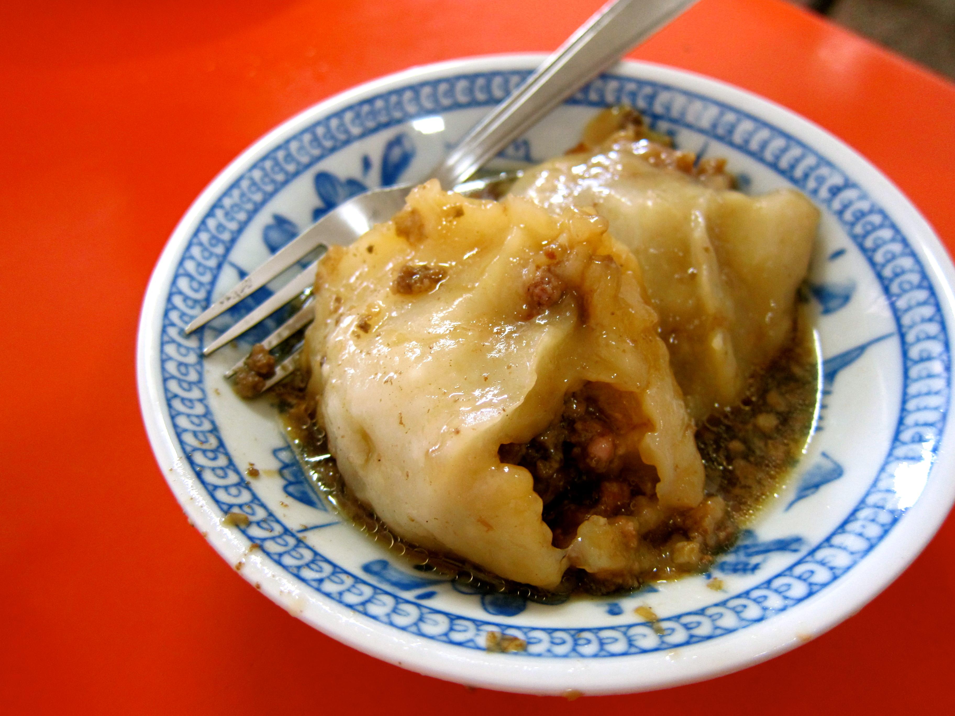 """[TW] Taiwan's """"mega dumpling"""" – Ba Wan (肉圓)"""