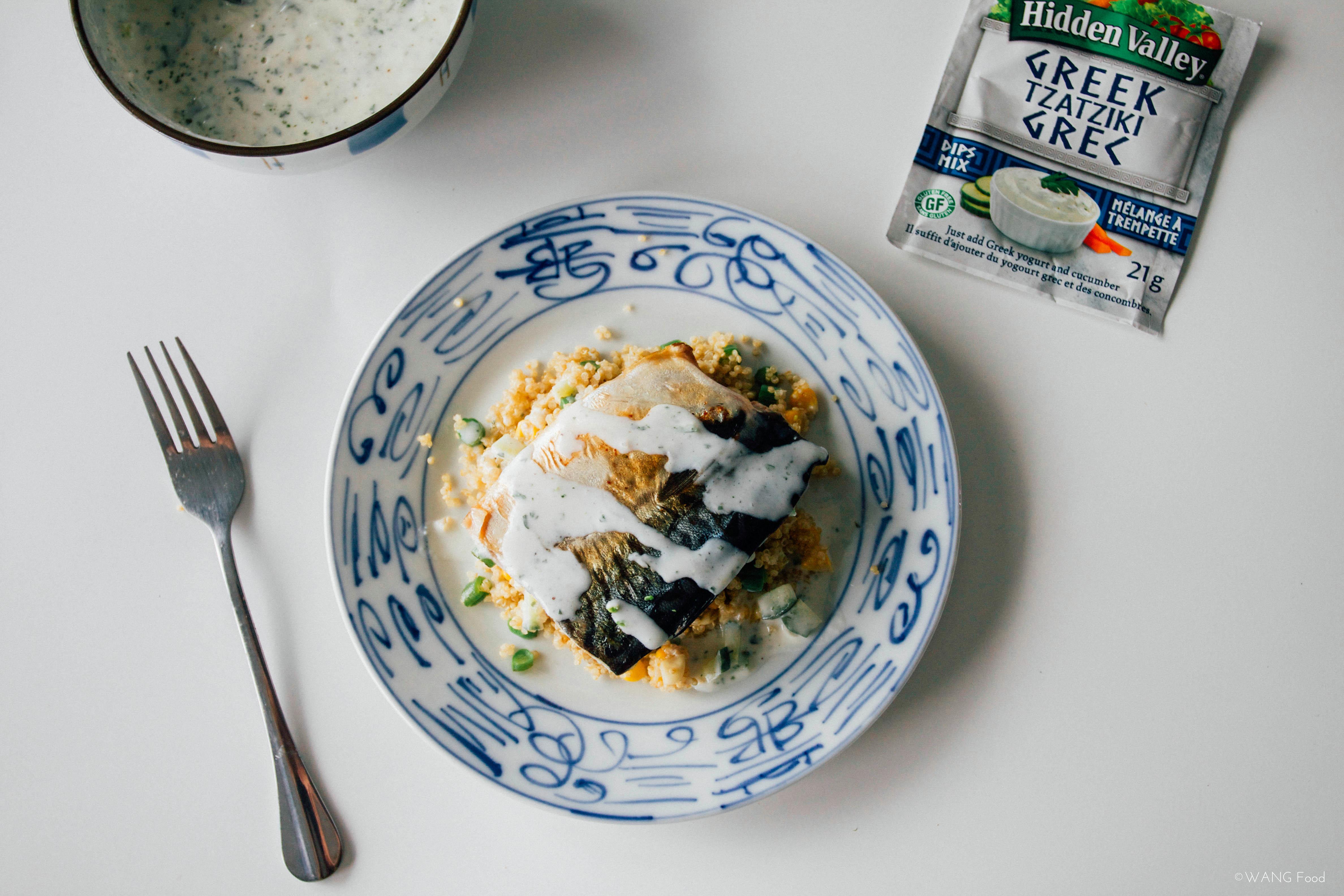 [What I Cook] Mackerel & Quinoa Salad