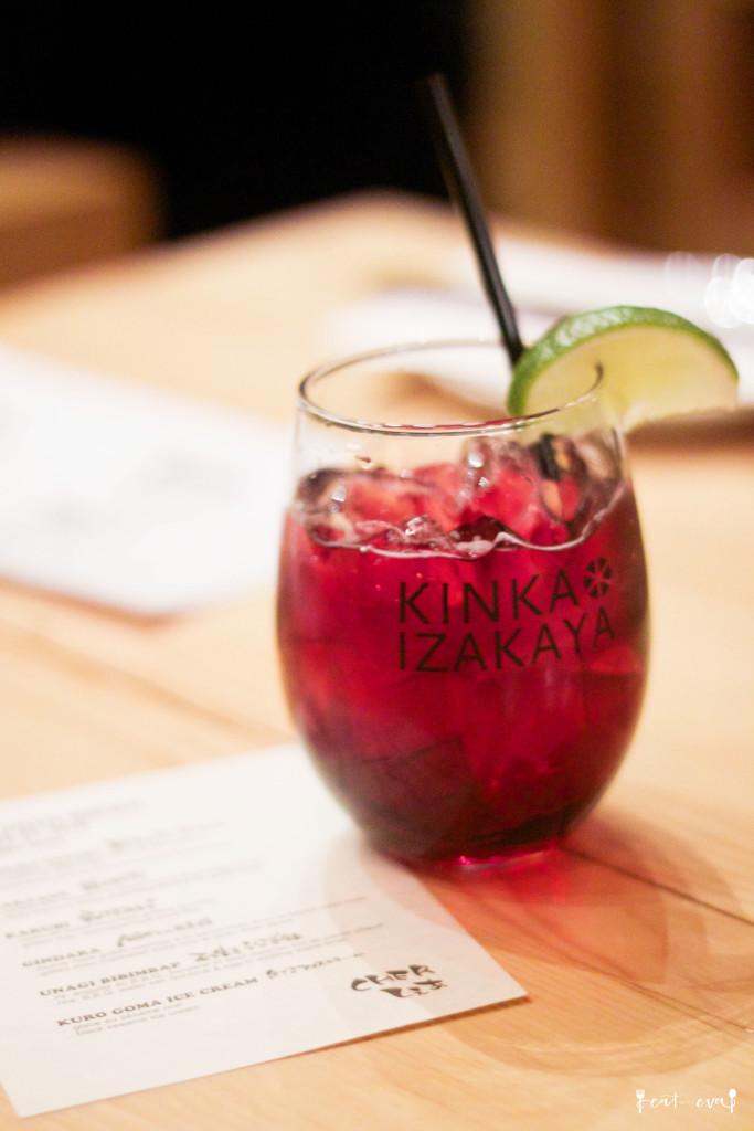 Kinka Izakaya - Sakura Cocktail