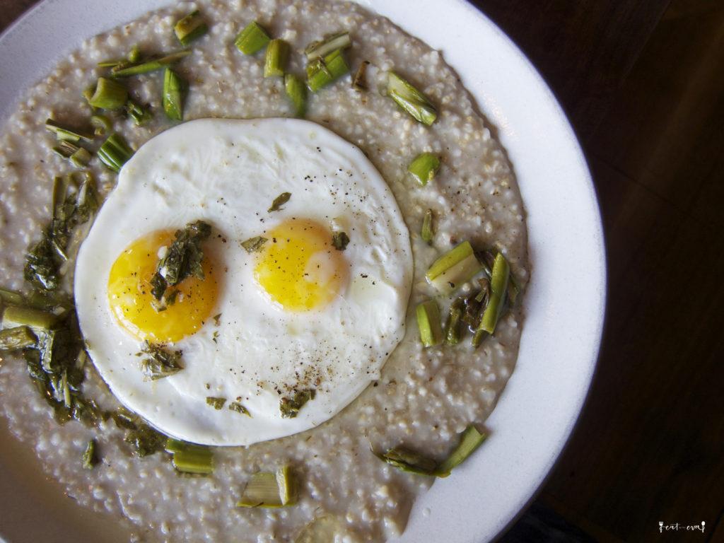 Outerlands savory porridge