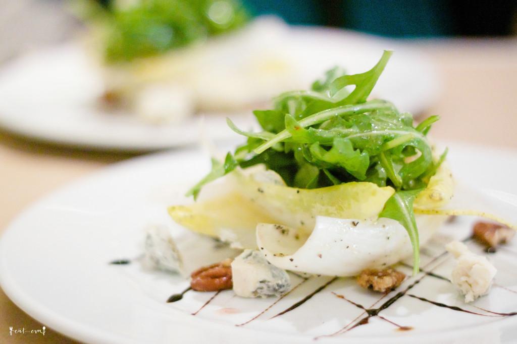MKT Restaurant endive salad