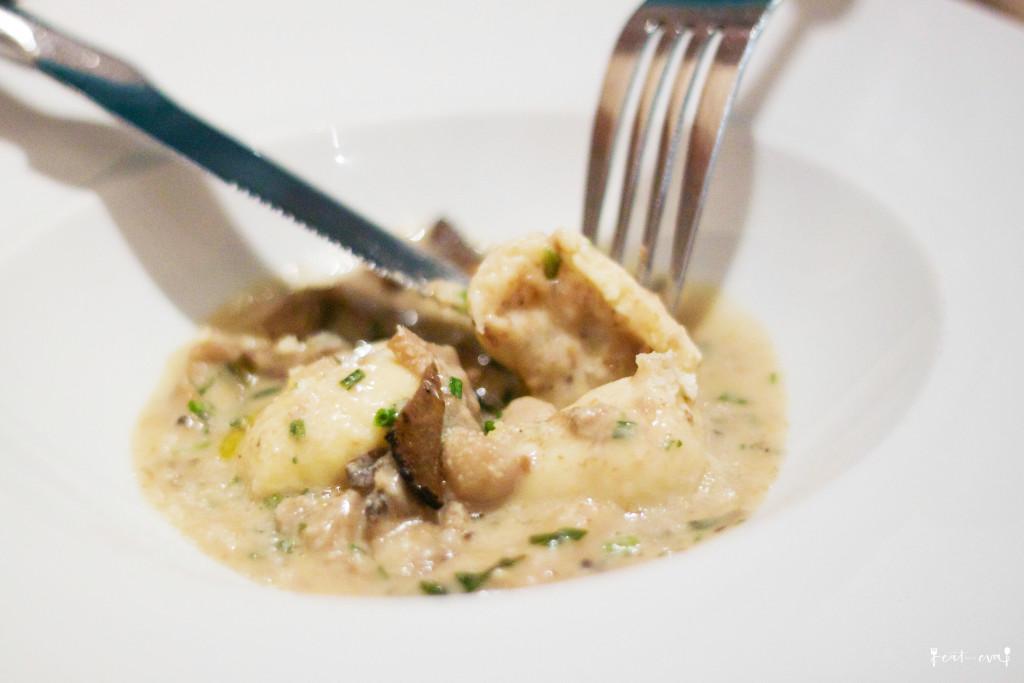 MKT Restaurant gnocchi