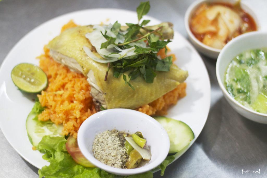 Da nang com ga chicken rice